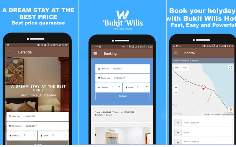 Bukit Wilis App Reservasi
