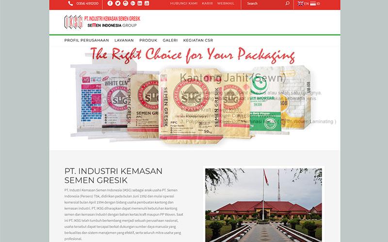 Website PT. IKSG
